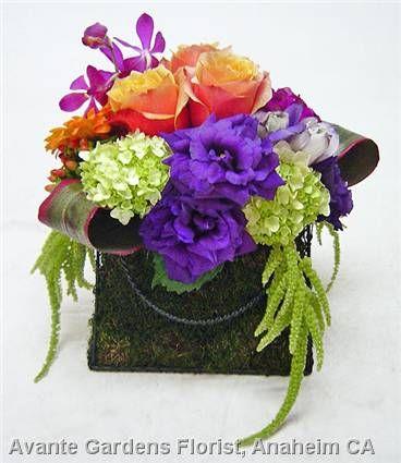 Fresh Flower Purse