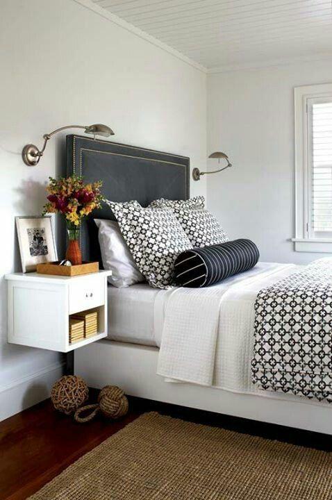 Blanco y negro | LOS COJINES | Pinterest | Negro, Blanco y Recamara