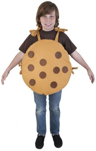 Child Cookie Costume Small 4-6 Wilton $1799 Toys  Games - Dress - food halloween costume ideas