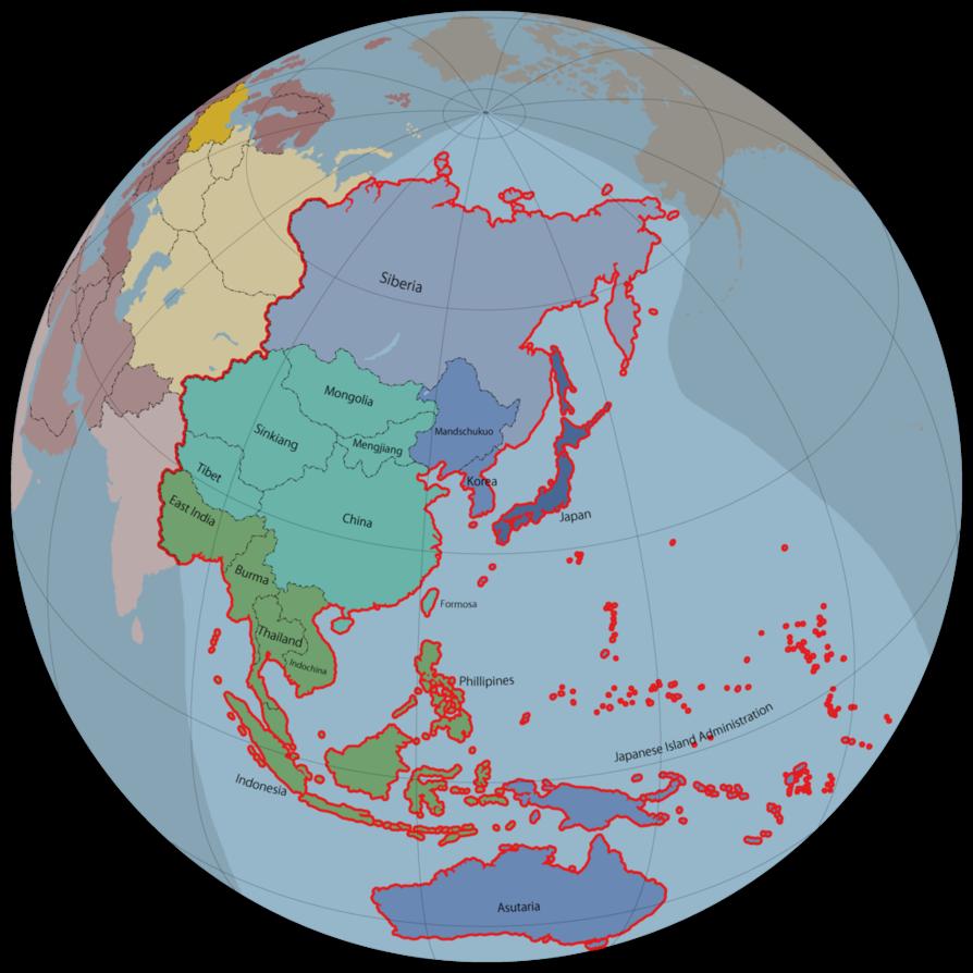 Japanese Empire alternate history by Arminius1871 on