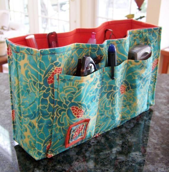 Purse Organizer Insert 10 Pockets Easy Convenient Patterns And Craft