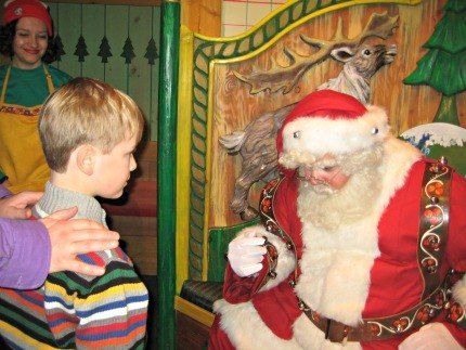 Macy's Santaland with NYC Kids: Best Times to Go and Tips for this Special Santa Experience - Macy's Herald Square Santaland Santa New York City Santaland Express Pass   Mommy Poppins - Things to Do in NYC with Kids
