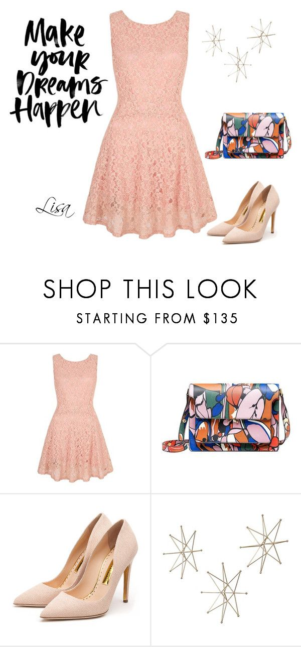 """Dreams Happen"" by coolmommy44 ❤ liked on Polyvore featuring Yumi, Marni and Rupert Sanderson"