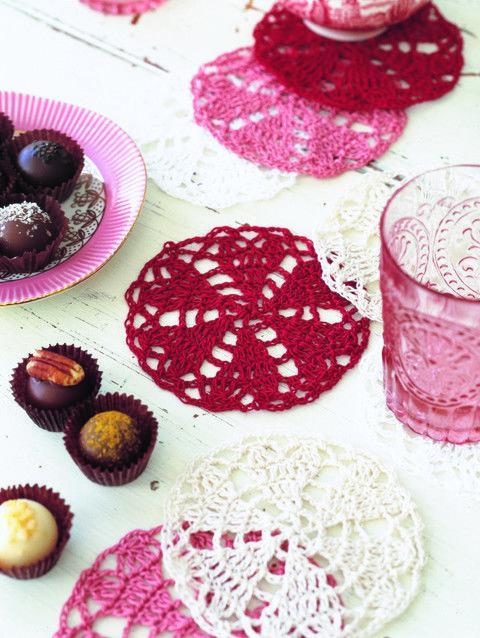 Crochet Doily Coasters