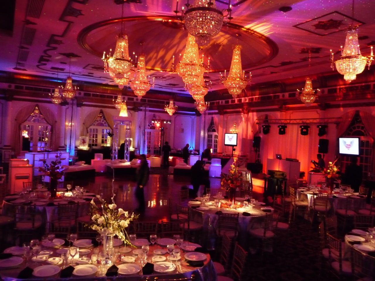 Artistic Event Lighting and Decor from Eggsotic Events, Event ...