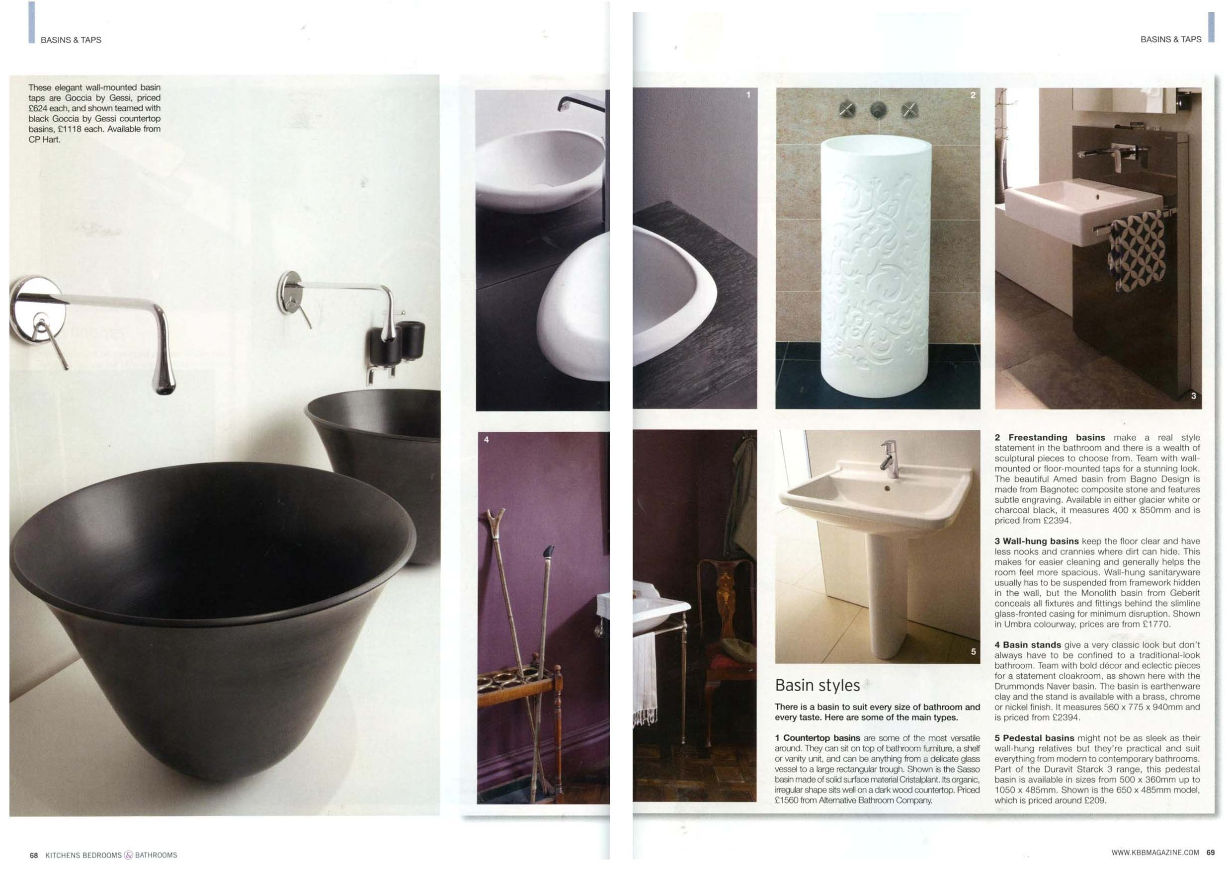 Photo Gallery For Photographers Sasso Basin from http alternativebathrooms Kitchens Bedrooms Bathrooms Magazine