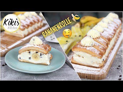 Ohne Backen Die Perfekte No Bake Bananenrolle Aus Dem Kuhlschrank Mit Loffelbiskuits Blitzschnell Youtube Kuchen Ohne Backen Backen Beste Kuchen