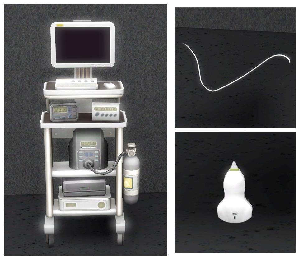 Inabadromance Ultrasound Set 4t3 Ultrasound Sims 4 Sims