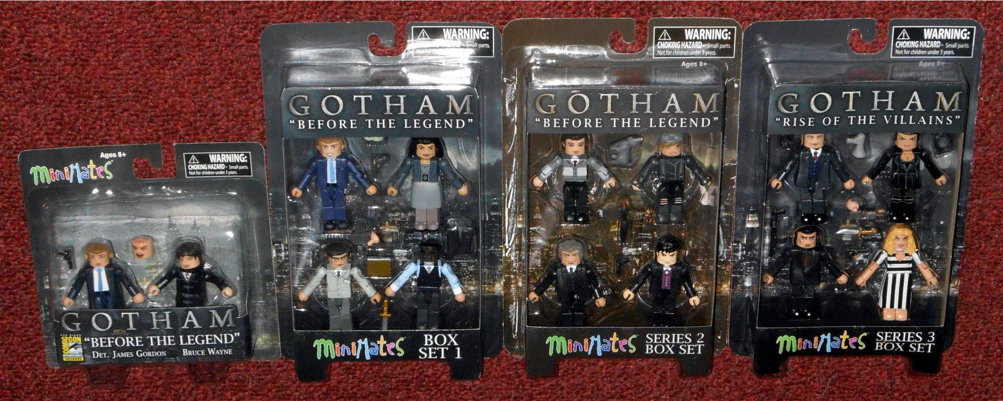 "Gotham Minimates /""Rise of the Villains/"" Series 3 Box Set"