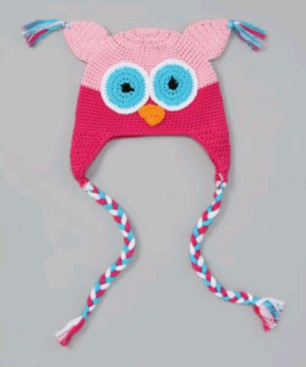 tecolotito rosa | crochet so cute | Pinterest | Rosas
