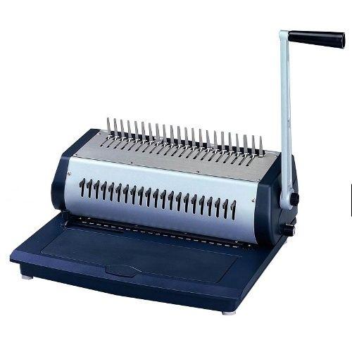Tamerica Tcc 2100 Manual Comb Punch Bind Machine Tamerica S All New Tcc2100 Manual Punch And Bind Machine Binding Machines Metal Construction Plastic Sheets