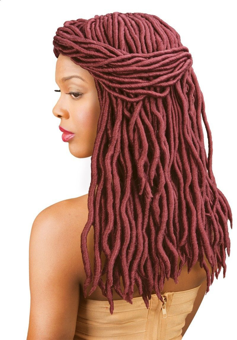 Amour Natty 16 Goddess Dreadlocks Wavy Crochet Braid Hair By Chade