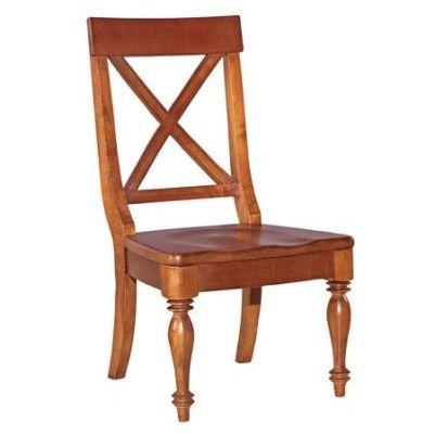 Kincaid American Journal Wood Seat Side Chair - cherry ...