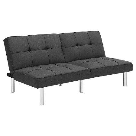 Futon Grey Linen Room Essentials Target Futon Living Room