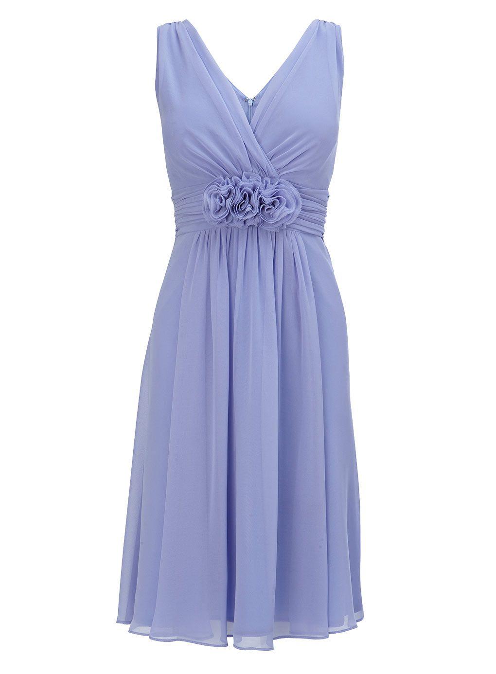 Ruby Cornflower Short Dress - adult bridesmaids - Wedding - BHS ...