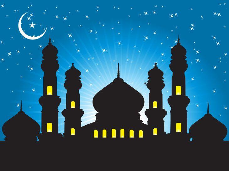 vector hari raya aidilfitri carian google seni islamis gambar realistis lukisan vector hari raya aidilfitri carian