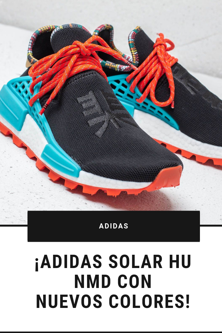 release date: 161b0 a73a2 ¡Adidas renueva la paleta de colores de los Adidas Solar HU NMD de Pharrell  Williams