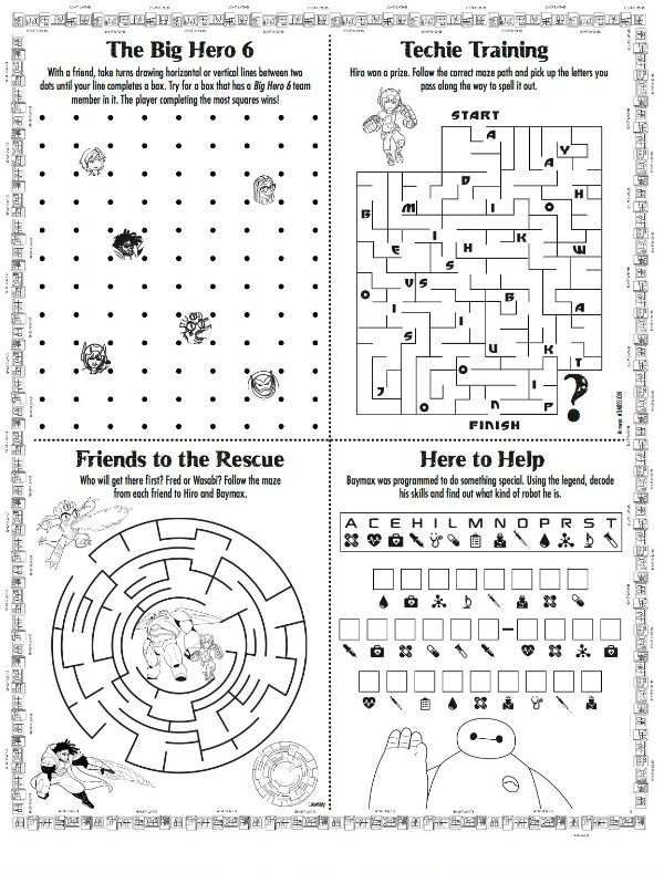 Free Printable Activities Activity Sheets For Kids, Disney Activities,  Free Printable Activities
