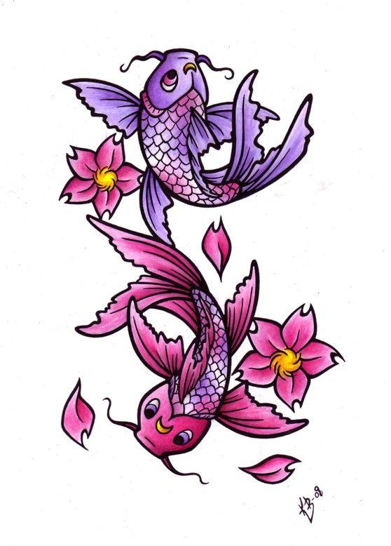 Worksheet. El Significado del Pez Koi   Colorful Pisces Tattoo  Pinterest