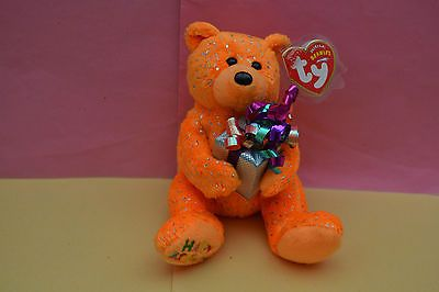 """Ty #beanie babies """"happy #birthday"""" #exclusive bear   mint condition incl tag  sa,  View more on the LINK: http://www.zeppy.io/product/gb/2/111840587213/"""