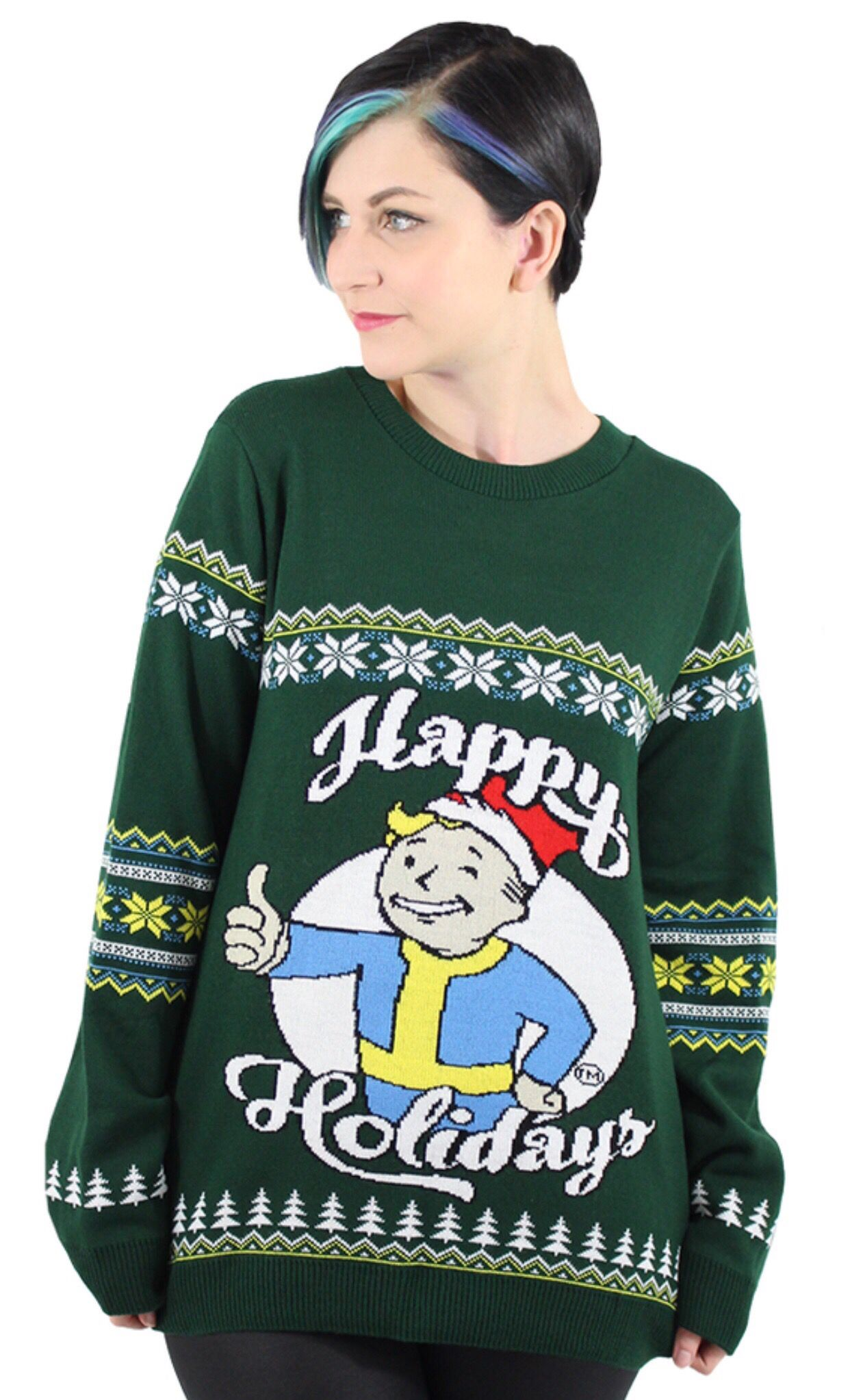 Fallout 4 Happy Holidays Christmas Jumper | Numskull: 2016 Xmas ...