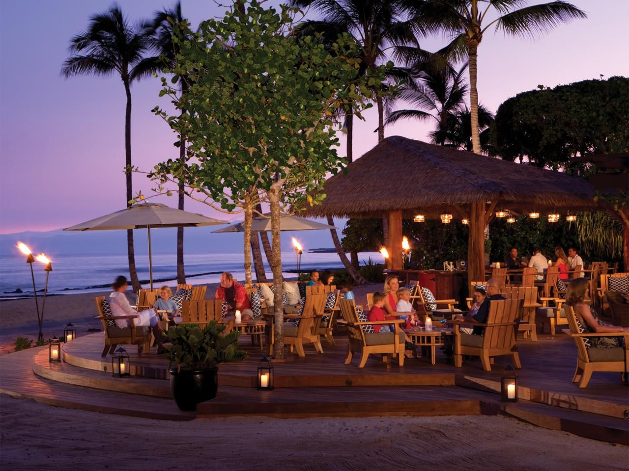 Diners At The Beach Tree Restauant Is Perfect Romantic Spot With Amazing Ocean Views And A Great Vantage Point To Watch Sun Set
