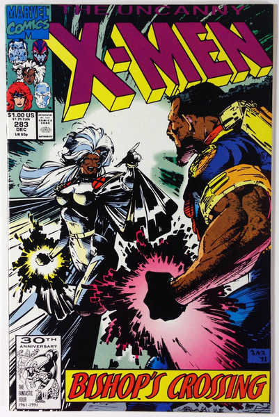 Marvel Comics The Uncanny X Men 283 1st Full App Bishop Movie Key Issue Nm 9 2 Wp Marvel Comics Covers X Men Marvel Comics
