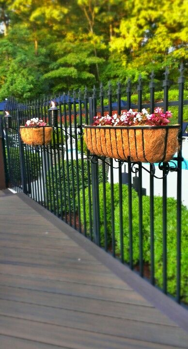 Fence Hangers Is The 1st And Only Plant Hanger Flowerbox Bracket