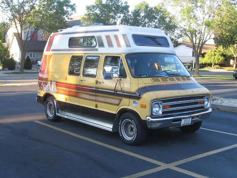 1978 Dodge Gladiator Camper Conversion Much Like My Old Van Except It Was A
