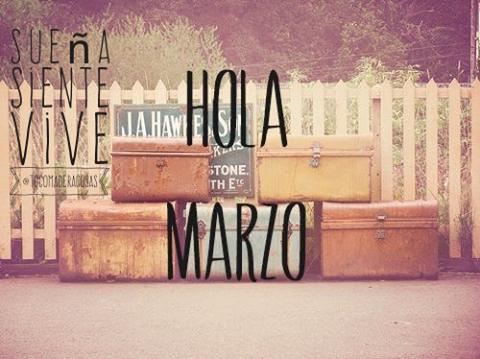 Con todo el mejor ánimo comenzamos a transitar #Marzo!  #BienvenidoMarzo #HolaMarzo #3erMesDelAño #Marzo2016 #CasiOtoño