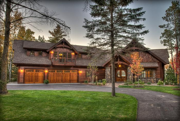 Rustic Exterior Total Dream House!!!!