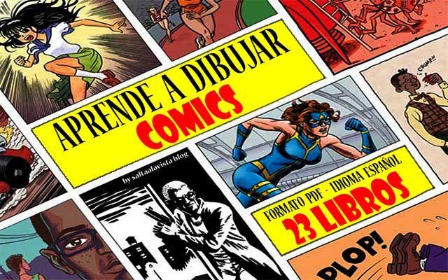 23 Libros Para Aprender A Dibujar Cómic En Español Aprende A Dibujar Comic Aprender A Dibujar Dibujar Comic