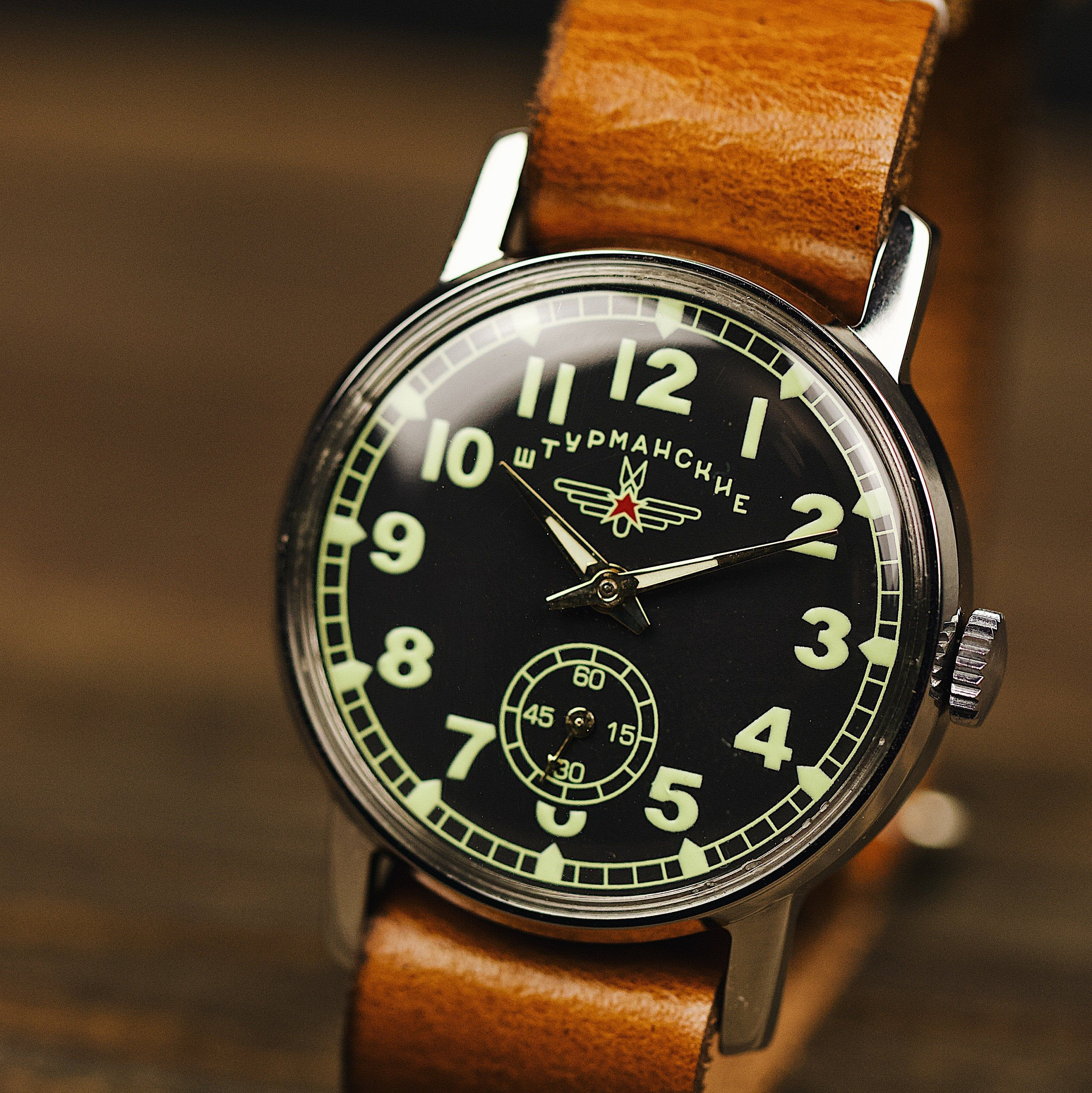 Mens Watches Christmas 2020 Military vintage watch SHTURMANSKIE. Watches for men, watch men