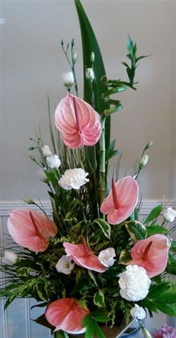 Resultado De Imagen De Arranjos Florais Simetrico Bellos Arreglos Florales Arreglos Florales Sencillos Arreglos Florales Creativos