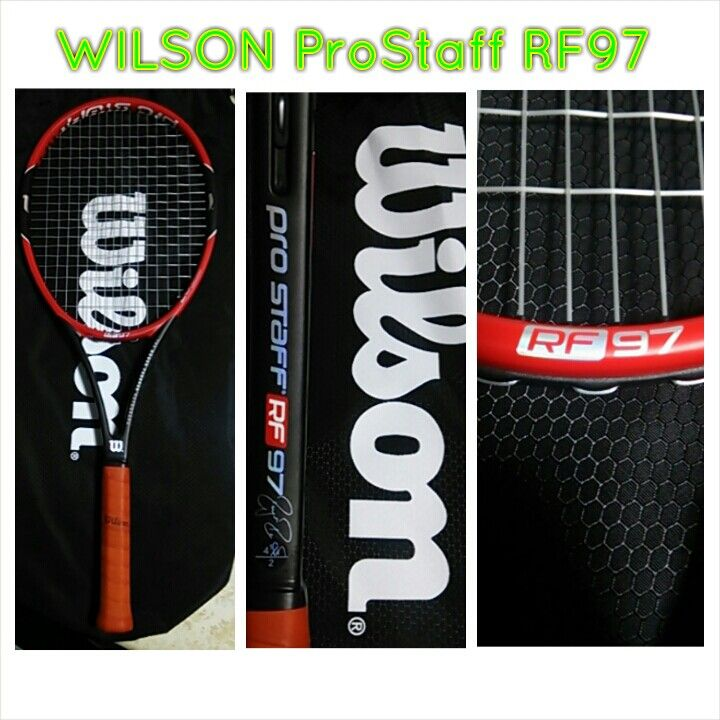 WILSON ProStaff RF97  大きく変わったProStaff。試打もせずに思い切って購入。 今までの薄ラケからどう変わったのか?  2014.12.23
