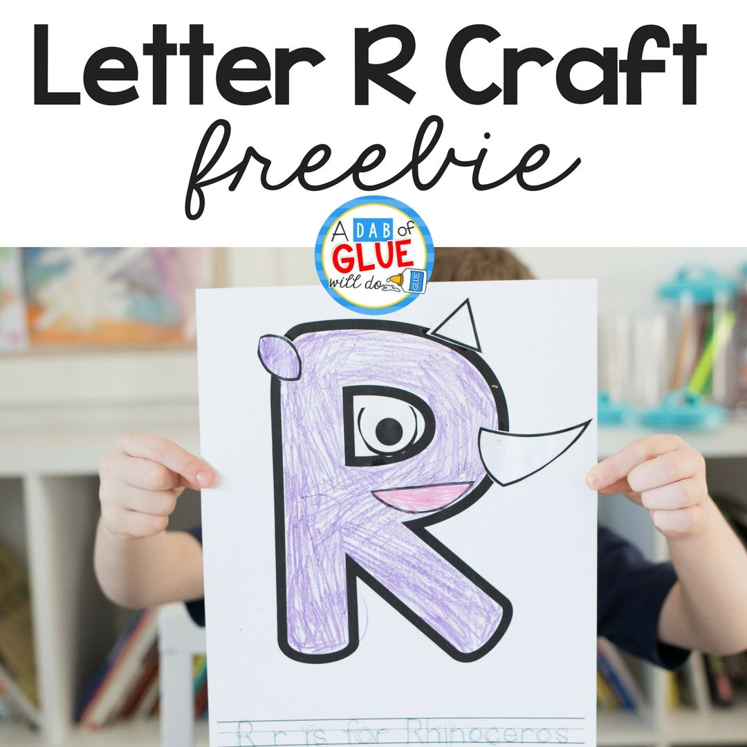 Animal Alphabet Letter Crafts