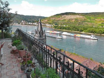 Bingen Rhein Rhineland Structures
