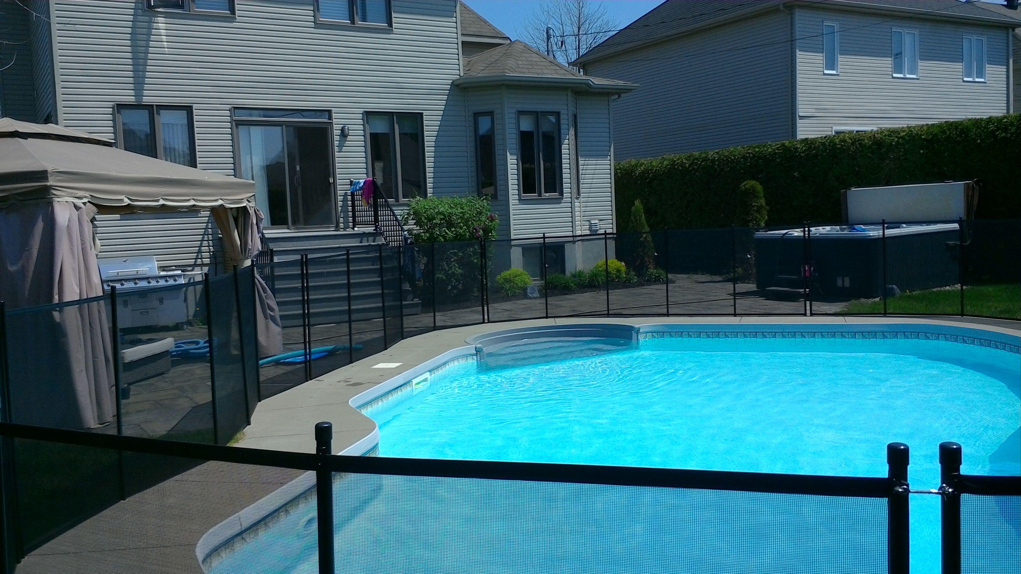 child safety pool fence installation