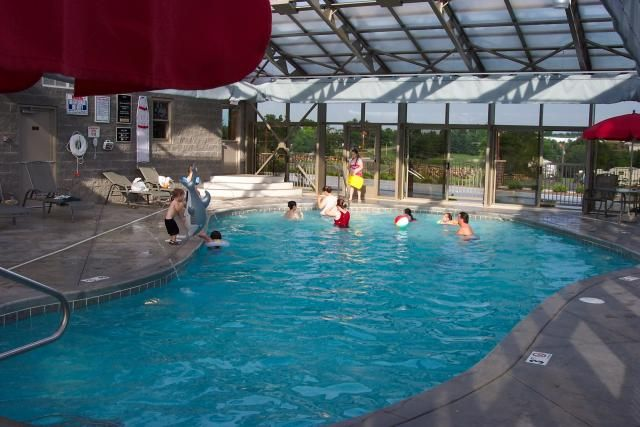 Indoor Pool Evergreen Rv Resort Dundee Ohio Camping Or Staying At The Cabin Pinterest