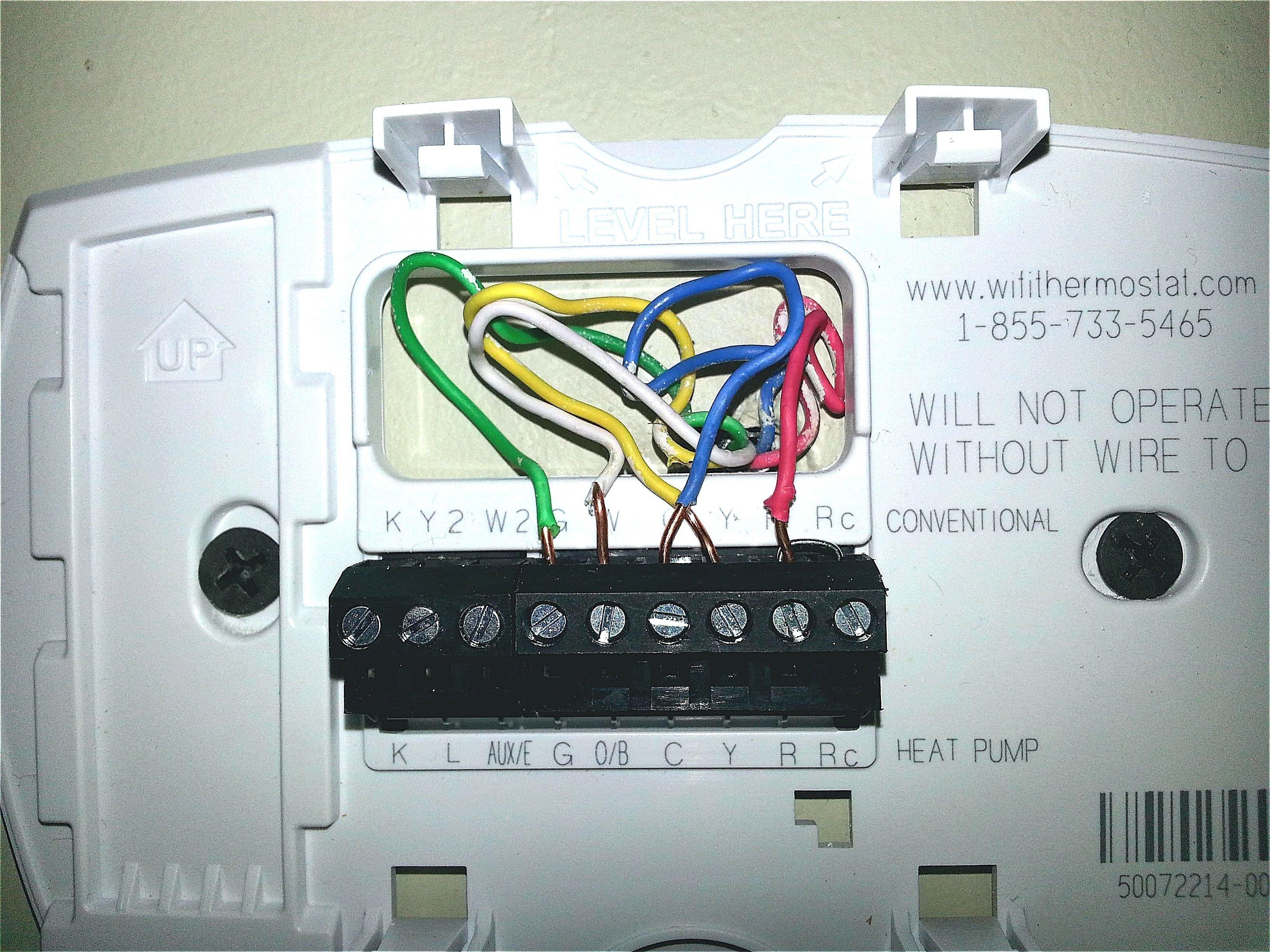Heat Pump Thermostat Wiring Diagram Honeywell Free Di 2020