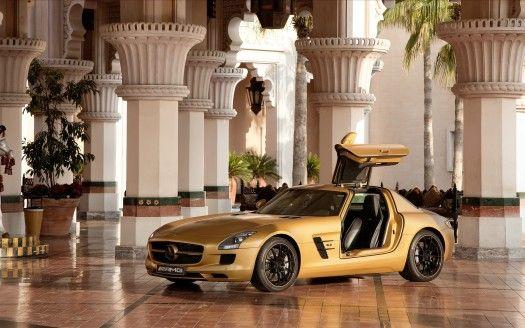 2010 Mercedes Benz Sls Amg Desert Gold 4 Mercedes Benz Sls Amg