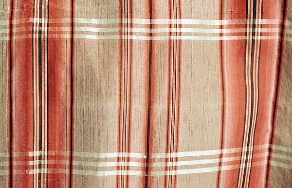 Robe à la Française (image 6 - detail) | probably French | 1770-90 | silk | Metropolitan Museum of Art | Accession Number: C.I.64.33a–c