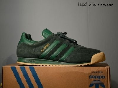 quality design 6cf87 14260 Adidas All Green   Sample   Kicks Box