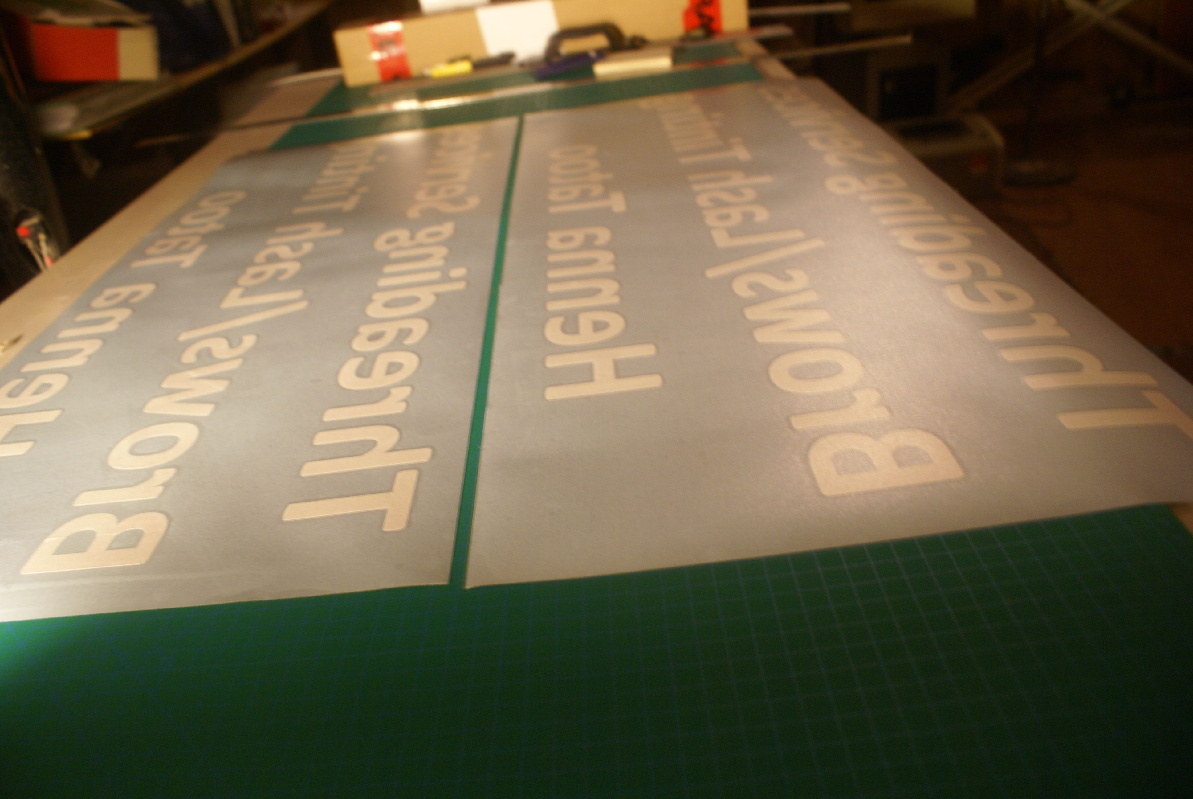 We Provide Custom Designed Self Adhesive Vinyl Signs For Shop Or - Custom vinyl adhesive signs