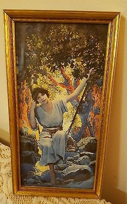 Maxfield parrish swinging girl have