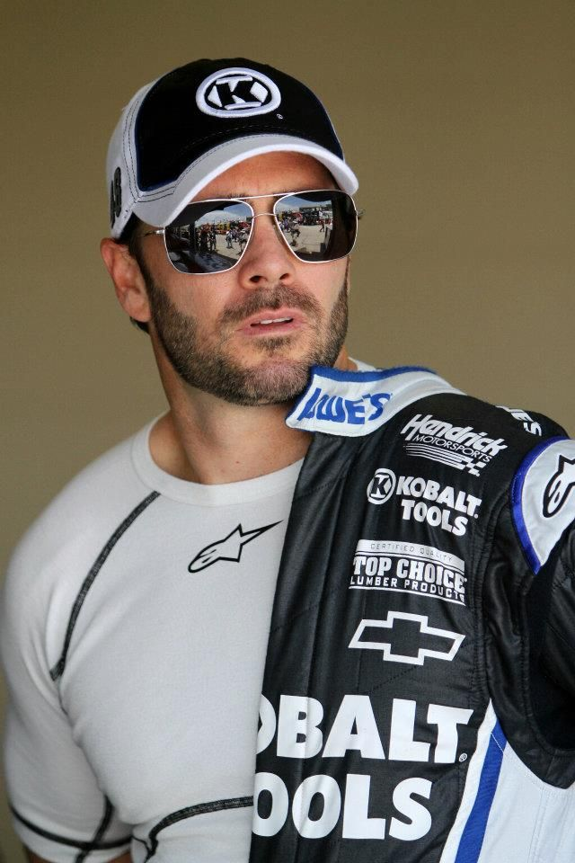 Yes... I am a NASCAR fan. Yes... I am a Jimmie fan!