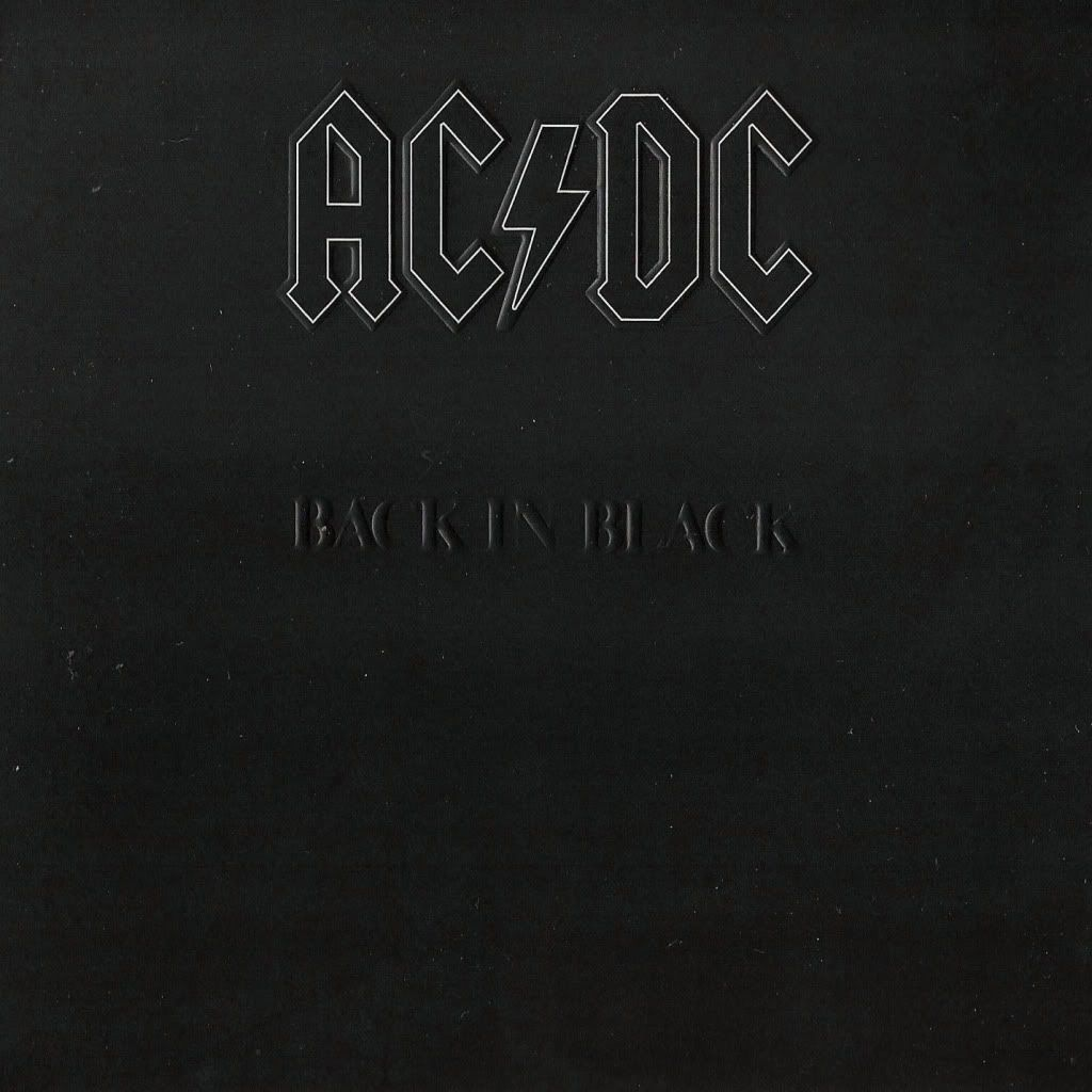 Ac Dc Back In Black 1980 In 2019 Best Selling Albums Music