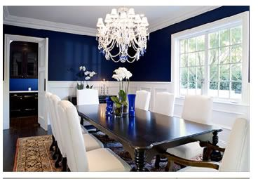Chair Rail Design Navy And White Home Decorating Forum Gardenweb