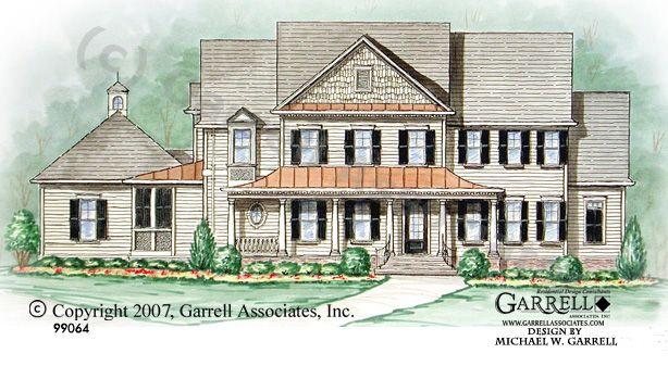 garrell associates inc homestead house plan 99064 front elevation farmhouse style - Farmhouse Elevations