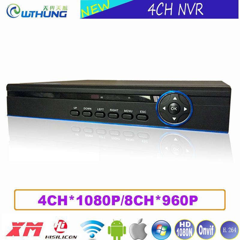New HD Digital Video Recorder 4CH 1080P/8 CH 960P NVR Xmeye